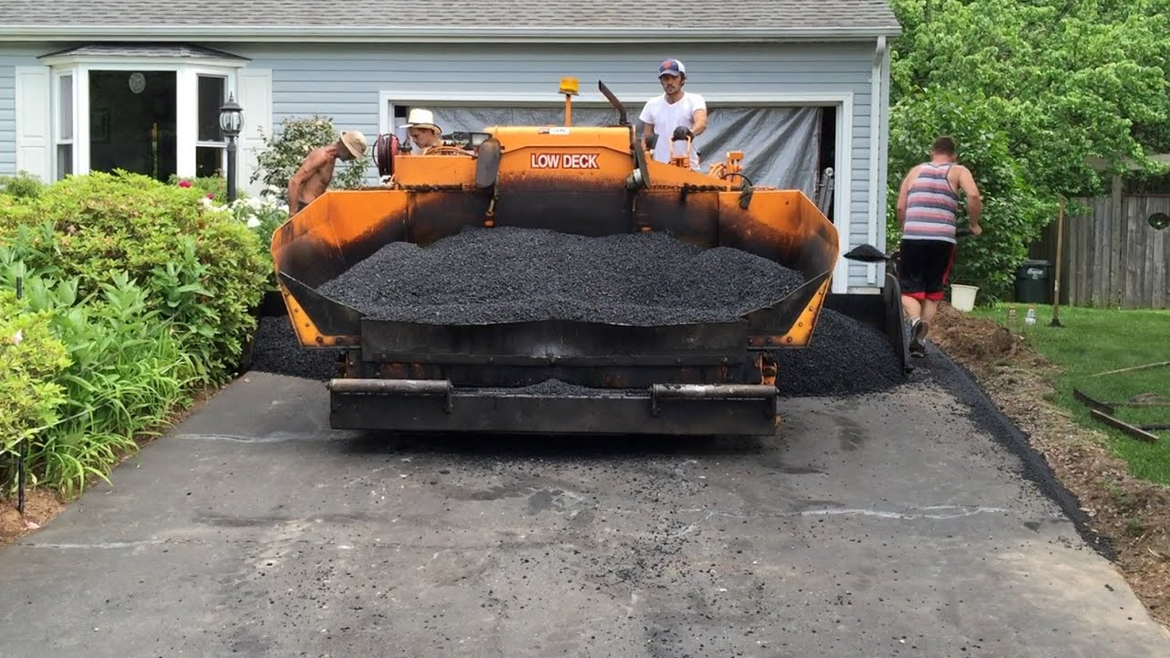 A pak paving resurfaces our asphalt driveway youtube solutioingenieria Gallery
