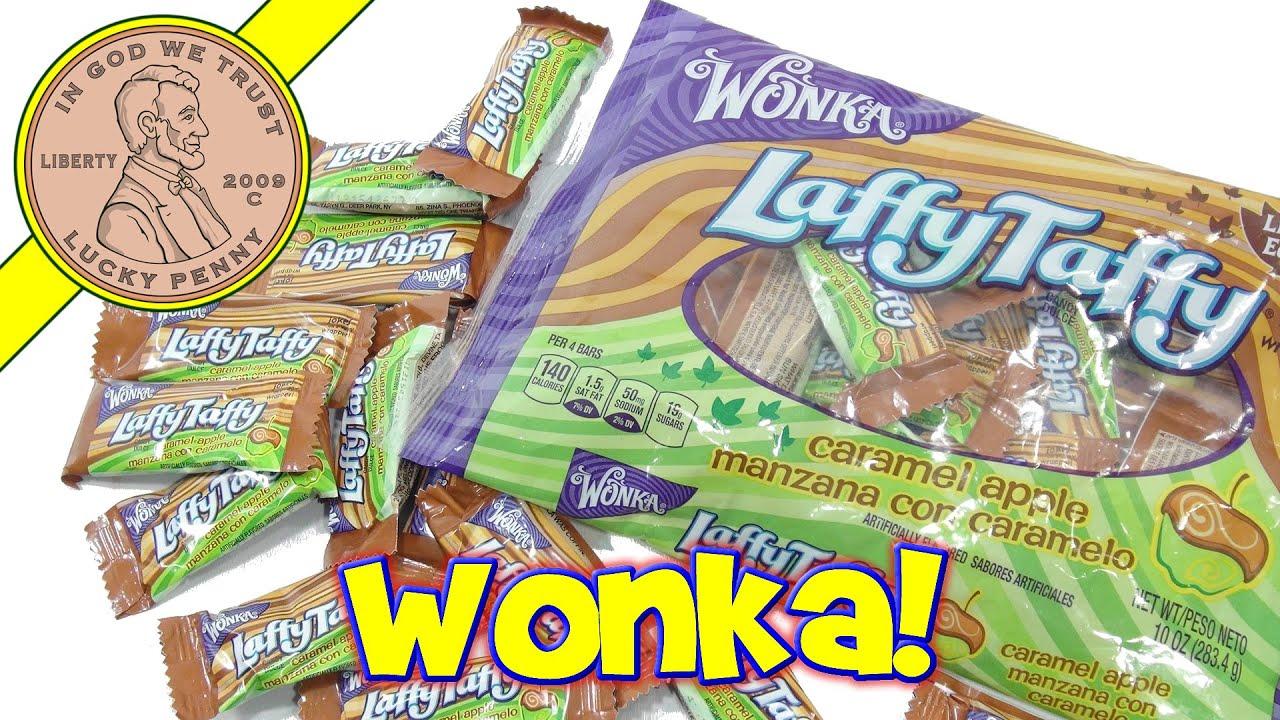Wonka Laffy Taffy Caramel Apple Limited Edition Candy