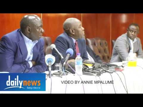 War Vets press conference on Zim situation