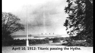 Part 2 100th Anniversary RMS TITANIC The Maiden Voyage April 1-14 1912
