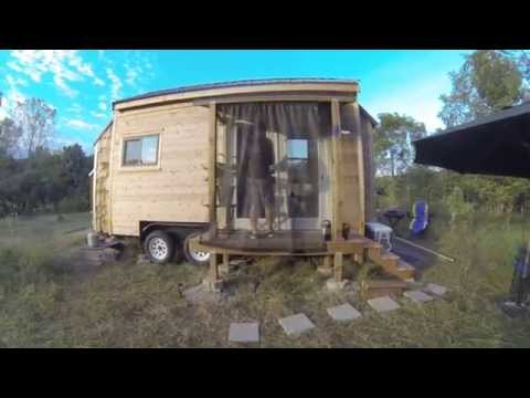 Chris Cerks Tiny House in Ann Arbor, Michigan