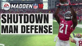 How To Shutdown Any Offense With Man Defense In Madden 18