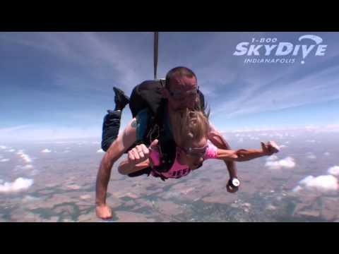 Kristi Redmon's Tandem skydive!