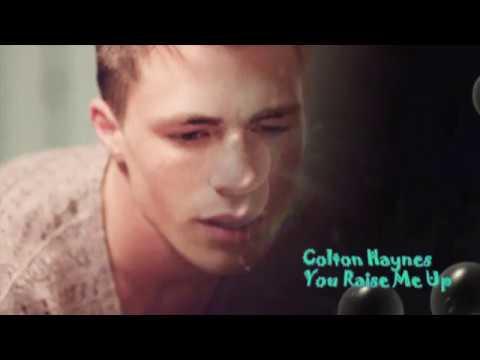 Colton Haynes   You Raise Me Up
