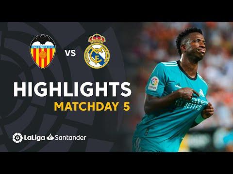Resumen de Valencia CF vs Real Madrid (1-2)