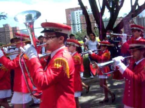 Banda musico marcial del Salazar y Herrera
