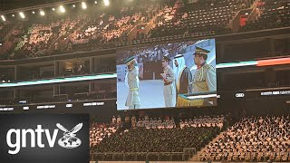 Glittering graduation ceremony of the 27th batch of Dubai Police Academy at Coca Cola Arena