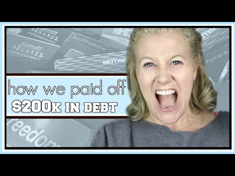 How To Get Out of Debt || How We Paid Off $200K of Debt in 36 Months