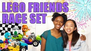 LEGO Friends: The Big Race Day Unboxing – The Build Zone