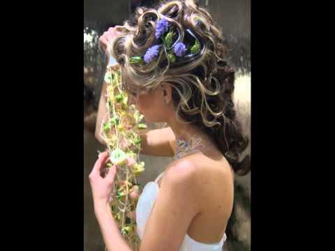 Свадебная прическа Королевский стиль