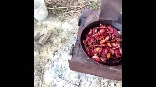как жарить свеклу и картошка