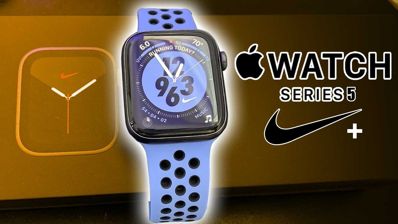 Download Hands on - Nike Edition Apple Watch Series 5 Whats the difference