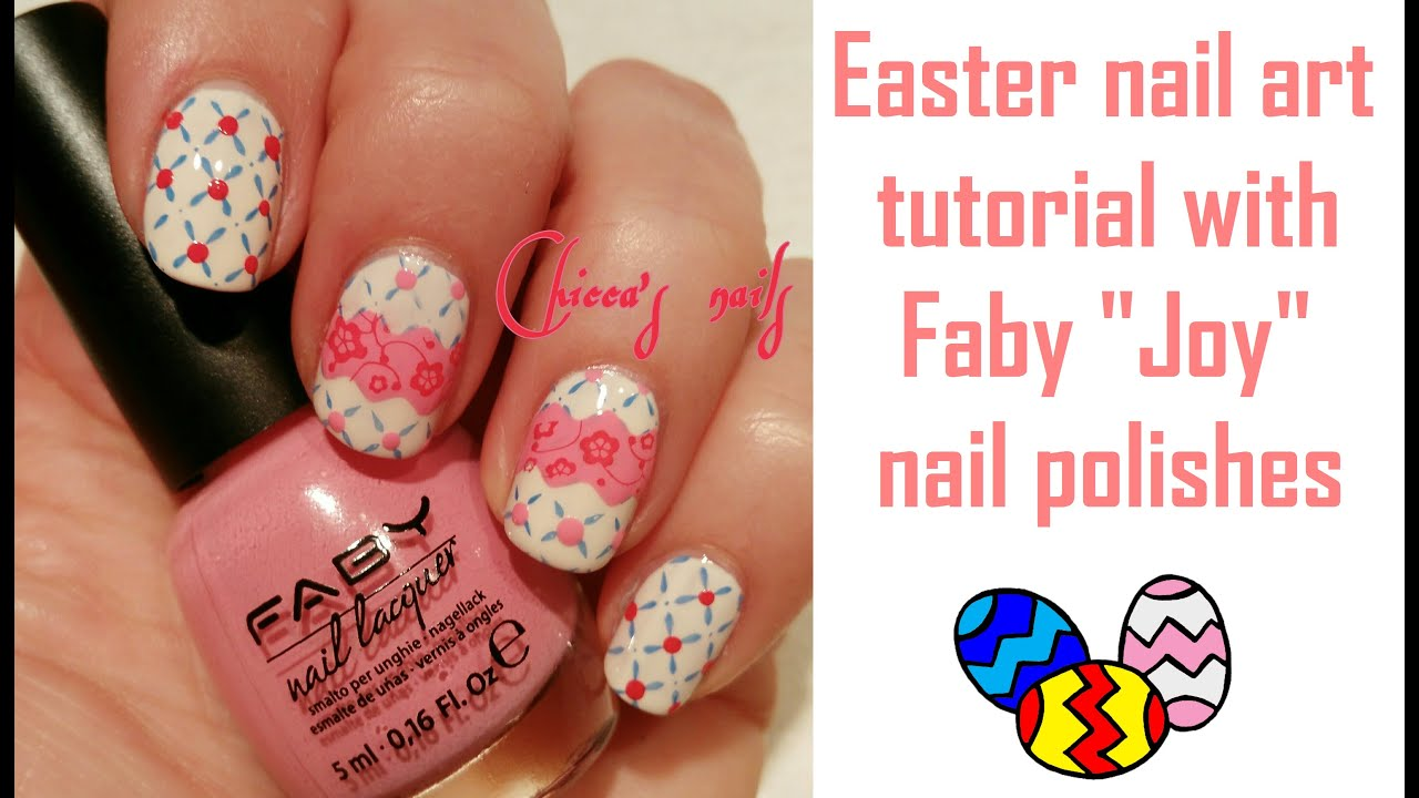 Easter nail art tutorial with Faby \