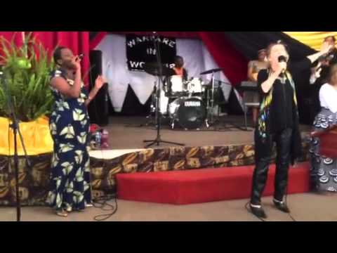 Worshipping the King in Africa