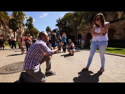 Balboa Park Memories Flash Mob Proposal In Balboa Park Youtube