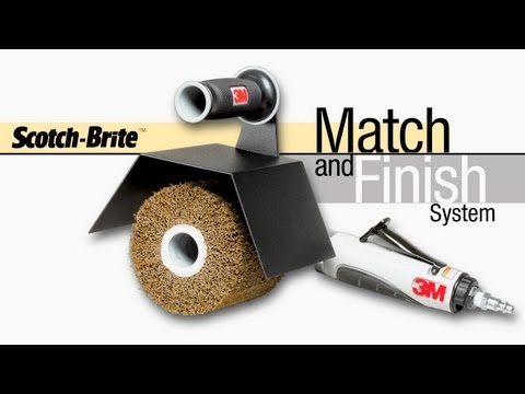 Scotch-Brite™ Match & Finish System