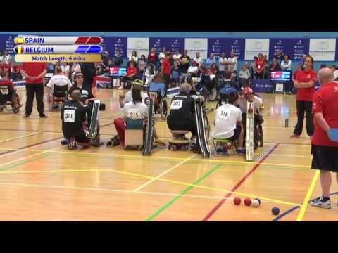 Boccia Europeans 2015 - BC3 Pairs Final - Belgium v Spain