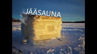 HOW TO BUILD ICE SAUNA? (70°C) | Timelapse