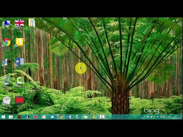 Cambiar el color de las Ventanas en Windows 8