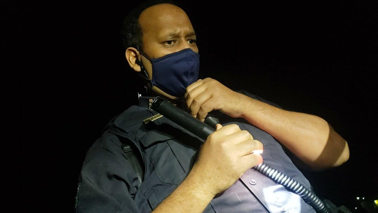 Officer Mohamed caught me sleeping at the old Shopko in Mankato, MN