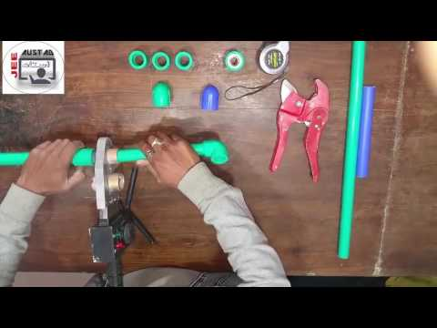 How To Joint PPR Pipe Welding Demo Patras Gill
