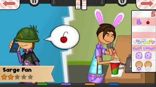 Papa's Scooperia To Go! - All Easter Toppings Unlocked