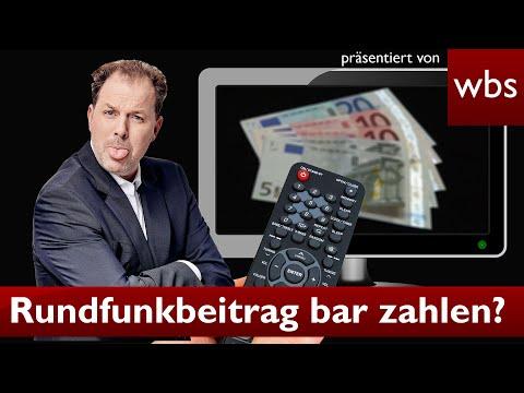 GEZ Trick: Rundfunkbeitrag in bar bezahlen? | Anwalt Christian Solmecke