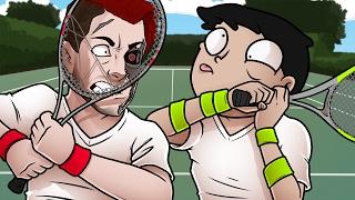 THE ULTIMATE GAMER RAGE! - Grand Slam Tennis 2