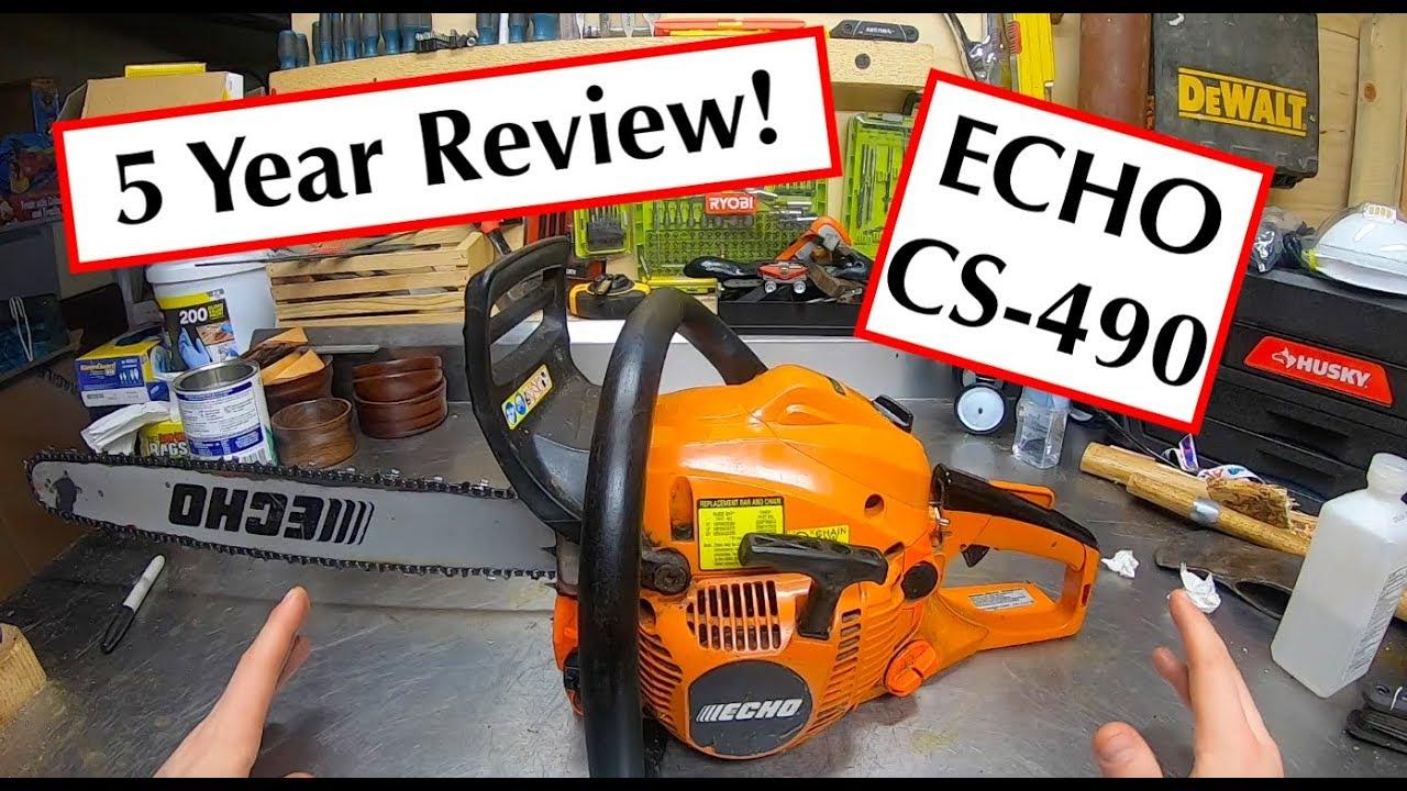 ECHO CS-490 5 Year Review - YouTube