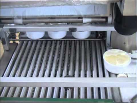 Italian Pack - Perseus Vac with lid applier for Yogurt
