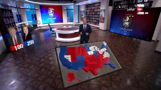 كل يوم - عمرو اديب: فى الانتخابات الامريكية مش مهم عدد الولايات المهم عدد الأصوات داخل كل ولاية