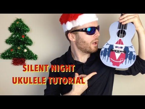 Silent Night - Christmas Ukulele Tutorial (EASY)