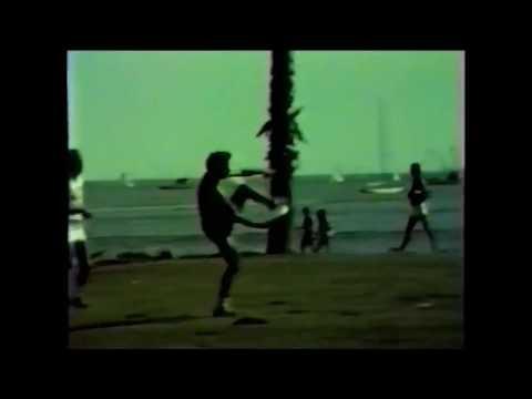 Freestyle frisbee John Jewell Larry Imperiale Pairs Santa Barbara Palm Park Mar 1984