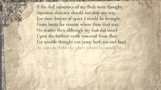 Sonnet 44 If The Dull Substance Of My Flesh Were Thought