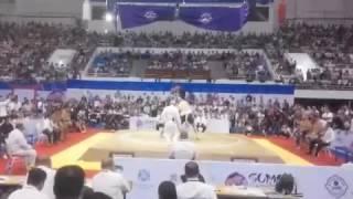 Чемпионат Мира по сумо (RUS???????? vs MNG )