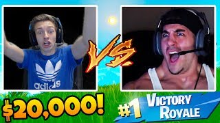 CRAZIEST ending EVER VS NickMercs & HighDistortion in Fortnite! $20,000 Fortnite Tournament