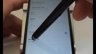 автоматическая и ручная настройка даты и времени в смартфоне Lenovo