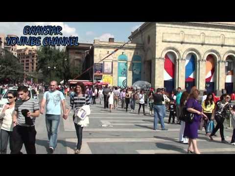 Ереван, Армения, 21 сентября 2011 года. Часть 2.