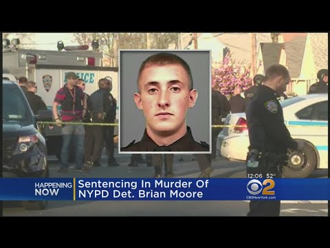 Sentencing In Killing Of Det. Brian Moore