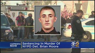Sentencing In Killing Of Det. Brian Moore
