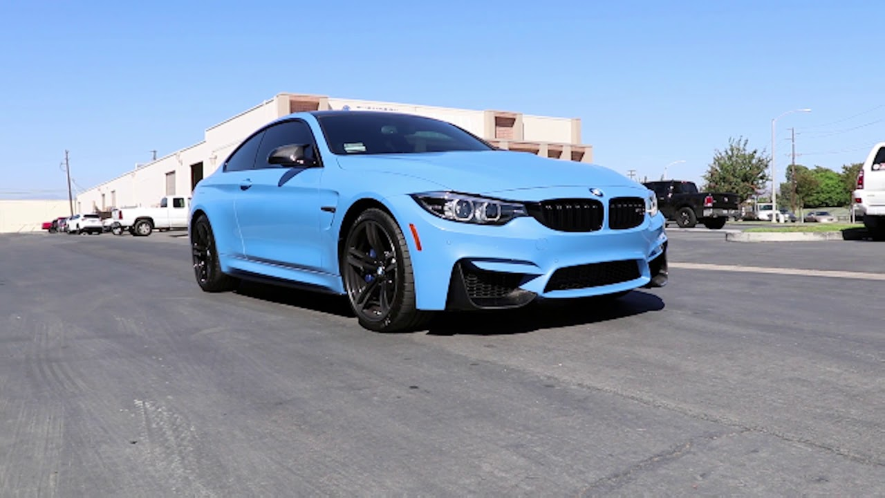 Rw Carbon Yas Marina Blue Bmw F82 M4 Youtube