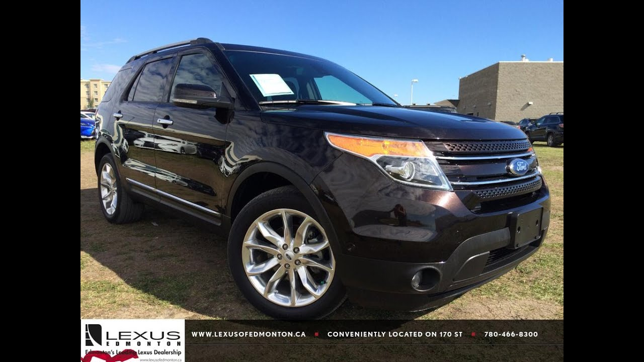 Pre Owned Brown 2013 Ford Explorer 4wd Limited In Depth