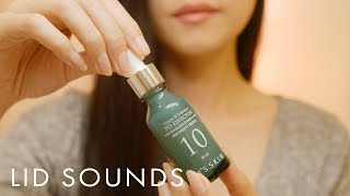 ASMR 10 Lid Sounds & Bottle Tapping, Scratching for Sleep 1Hr (No Talking)