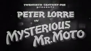 Mr  Moto in Mysterious Mr Moto - 1938 - Peter Lorre