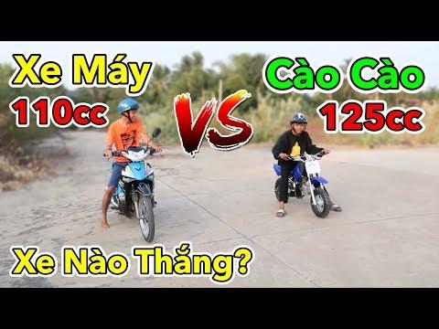 Lâm Vlog - Mua Xe Cào Cào Mini 125cc Giá 10 triệu Trên Shopee | Xe Cào Cào Mini vs Xe Máy