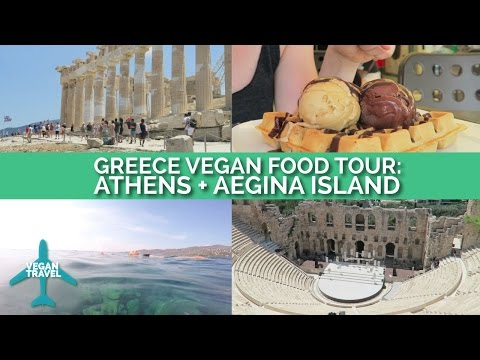 Greece Vegan Food Tour: Athens + Aegina Island