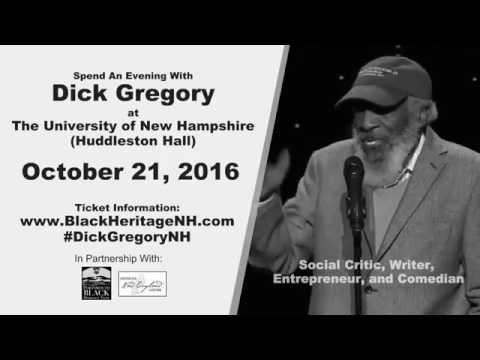 Dick Gregory At The University Of New Hampshire