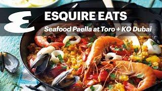 Seafood Paella at Toro + KO Dubai #EsquireEats