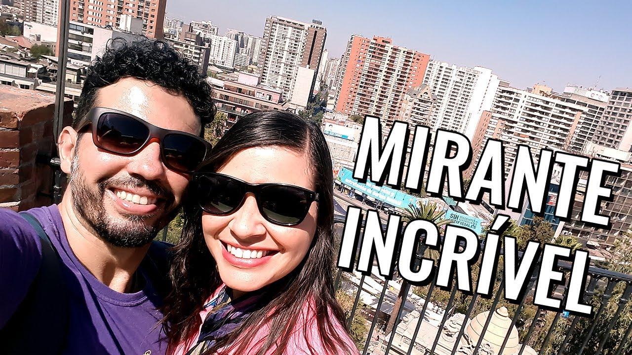 Pontos turísticos de Santiago do Chile: vlog de viagem no Cerro Santa Lucía