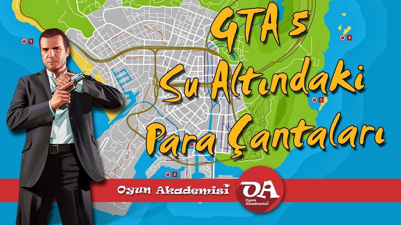 GTA 5 Su Altında Para Çantası